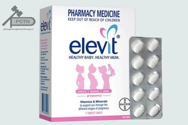 Vì sao nên uống thuốc Elevit trước khi mang thai?