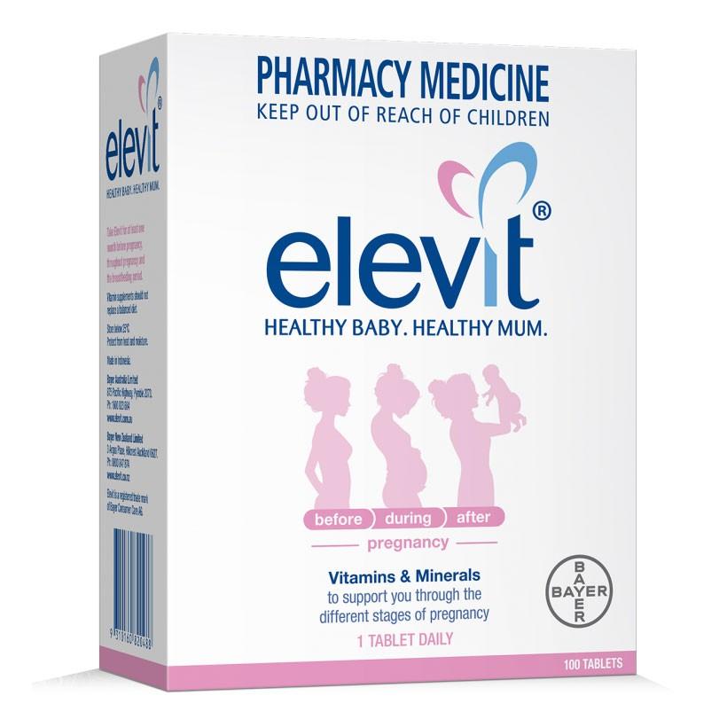 Ưu điểm vượt trội của thuốc Elevit