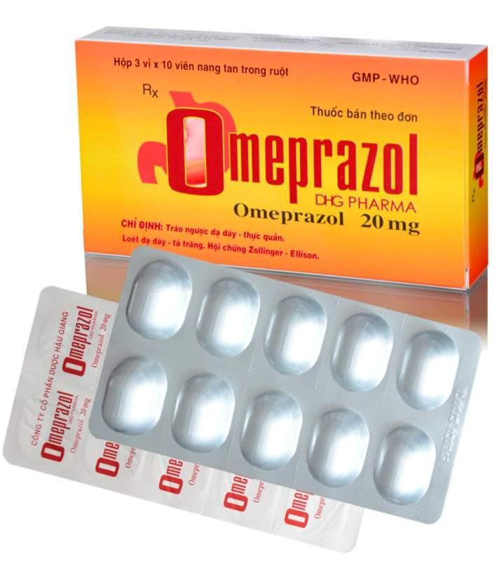 Chống chỉ định với Omeprazol 20mg