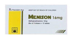Thuốc Menison là  thuốc gì? Liều dùng của thuốc Menison