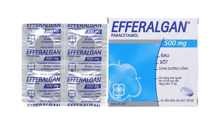 thuốc hạ sốt efferalgan 500mg