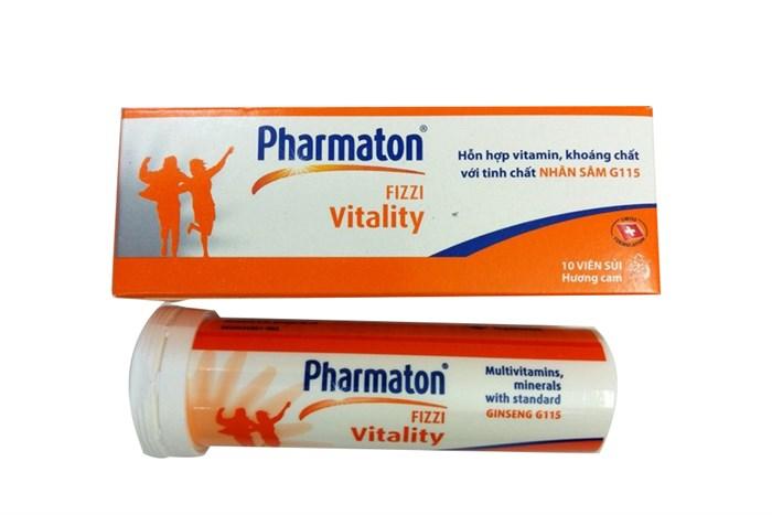 Thuốc Pharmaton dưới dạng viên sủi