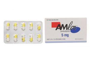 thuốc huyết áp amlor 5mg
