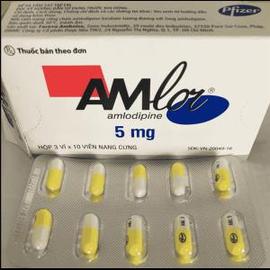 giá thuốc amlor 5mg của pháp