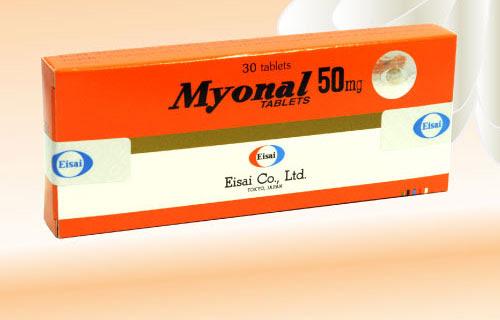 Tìm hiểu về thuốc Myonal 50mg có tác dụng gì?