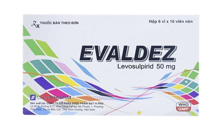Tìm hiểu về các tác dụng của thuốc Evaldez