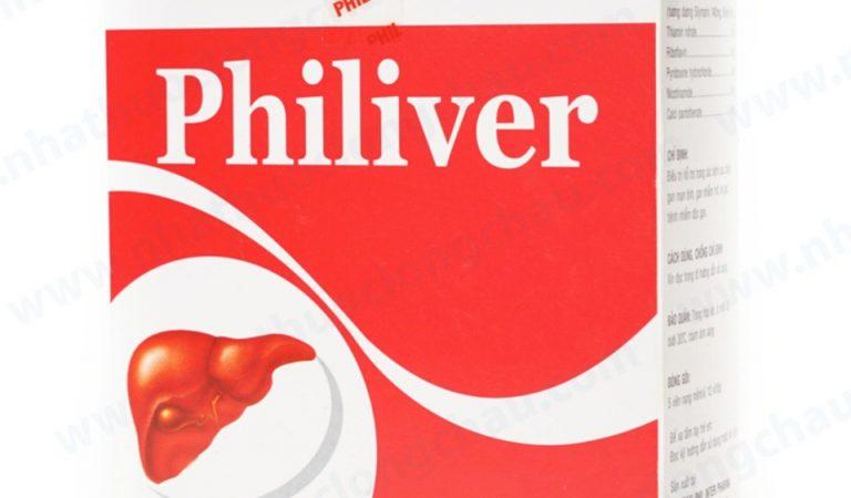 Những điều cần biết về thuốc Philiver