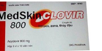 Thuốc Medskin Clovir