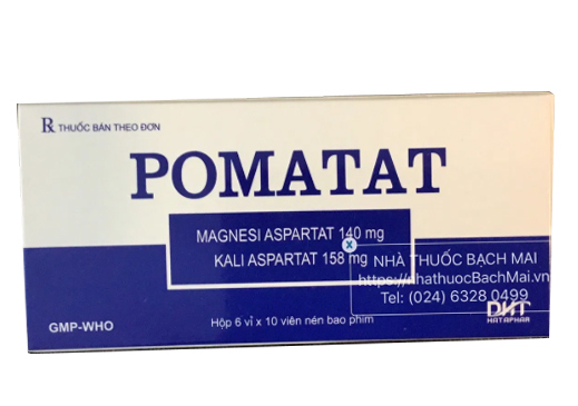 Thuốc Pomatat: Tác dụng và những lưu ý khi sử dụng