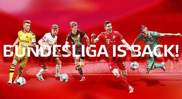 Lịch thi đấu bóng đá Bundesliga mùa giải 2020-2021: Bundesliga is back